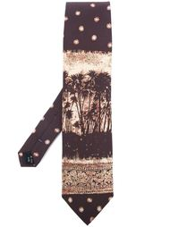 галстук с принтом пальм Jean Paul Gaultier Vintage