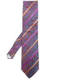 галстук с цветочным узором Kenzo Vintage