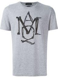 футболка с логотипом Alexander McQueen
