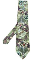галстук с цветочным принтом Kenzo Vintage