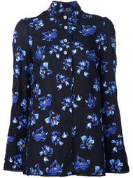 рубашка с цветочным принтом Proenza Schouler