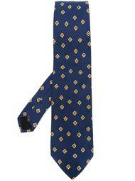 жаккардовый галстук Prada Vintage