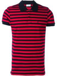 футболка-поло в полоску  Saint Laurent