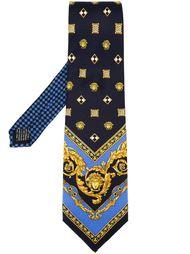 галстук с принтом 'Medusa' Versace Vintage