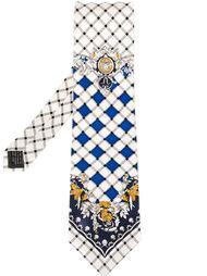 галстук в клетку Versace Vintage