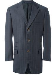 пиджак в мелкую полоску Versace Vintage
