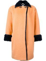 текстурированное пальто Versace Vintage