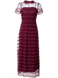 прозрачное платье  Red Valentino