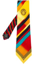 галстук с узором Versace Vintage