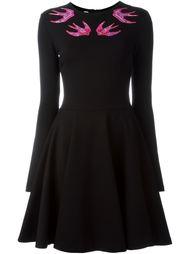 платье с вышивкой  McQ Alexander McQueen