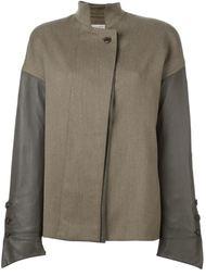 куртка с панельным дизайном Gianfranco Ferre Vintage