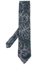 галстук с цветочным принтом Etro