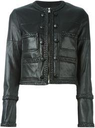 укороченная куртка с косичками на подоле Givenchy