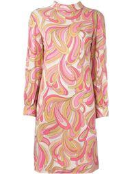 платье-шифт с узором Emilio Pucci Vintage