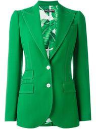 пиджак с декоративной контрастной строчкой Dolce & Gabbana
