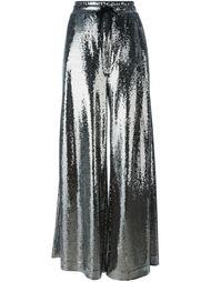 брюки палаццо с пайетками McQ Alexander McQueen