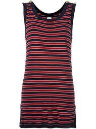 платье в полоску Moschino Vintage