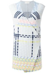 ottoman knitted gilet Peter Pilotto