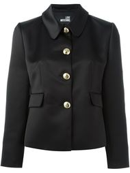 приталенная куртка на пуговицах Love Moschino