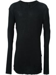 футболка с необработанными краями Thom Krom