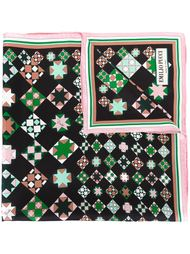 шарф с геометрическим принтом Emilio Pucci