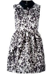 платье с контрастным воротником   McQ Alexander McQueen