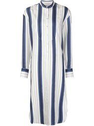 длинное платье-рубашка в полоску Protagonist