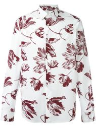 рубашка с цветочным узором Marni