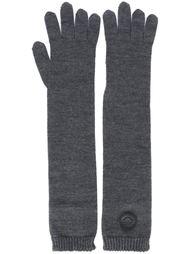 длинные вязаные перчатки Dsquared2