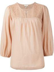 блузка с вышивкой Joie