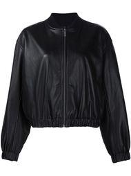 куртка-бомбер свободного кроя  Helmut Lang