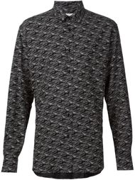 "рубашка с характерным воротником ""Yves"" Saint Laurent"