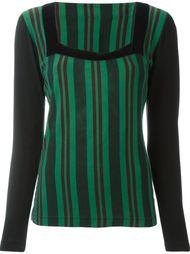 свитер в полоску Jean Paul Gaultier Vintage