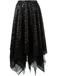 юбка с пайетками Marc Le Bihan