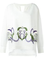 джемпер с цветочной вышивкой Mame