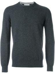 свитер с круглым вырезом   Brunello Cucinelli