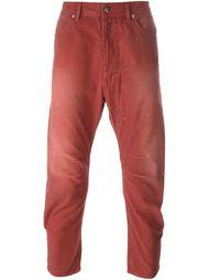 укороченные брюки  Diesel