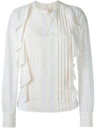 блузка с оборками  See By Chloé