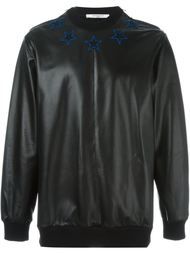толстовка с заплатками в виде звезд Givenchy