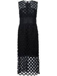 платье с перфорированным дизайном  Sophie Theallet