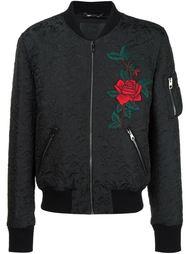 куртка-бомбер с жаккардовым узором Dolce & Gabbana
