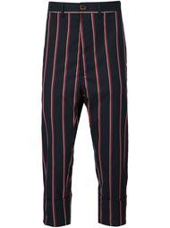 укороченные полосатые брюки Vivienne Westwood Man