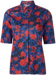 рубашка с цветами Sophie Theallet