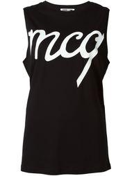 топ с логотипом McQ Alexander McQueen