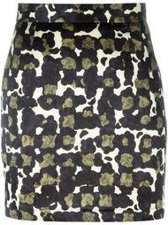 юбка с камуфляжным принтом  Dsquared2