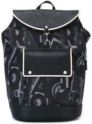 рюкзак с принтом букв Salvatore Ferragamo