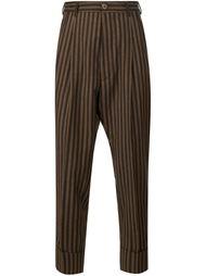 брюки в тонкую полоску Vivienne Westwood