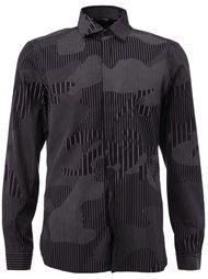 рубашка с камуфляжным принтом  Neil Barrett