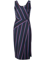 полосатое платье Altuzarra