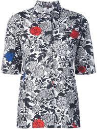 платье-рубашка с цветочным принтом  Sophie Theallet